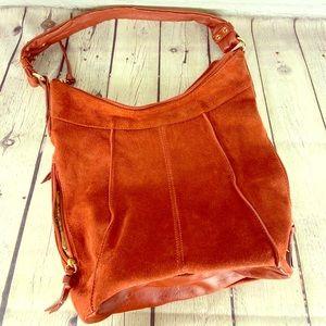 Tignanello Suede Hobo bag